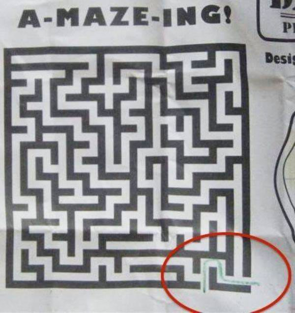 amazing Maze ~ Funny You Had One Job Fails http://ibeebz.com