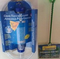 Large Tropical Fish Aquarium Gravel cleaner siphon net set - includes sameday send, FREE 1st Class Delivery plus 28 day peace of mind Returns Policy on all discount #Pet Supplies ( #Cat #Dog #Fish Items) at http://cutpricepetproducts.co.uk