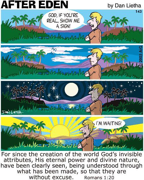 After Eden 143: Show me a sign