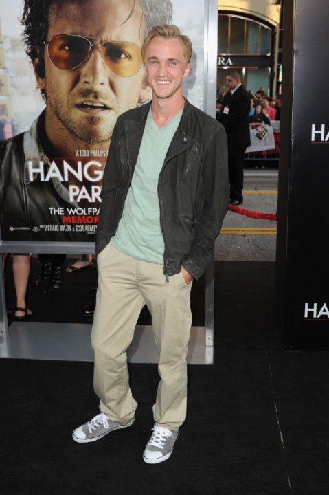 Tom Felton at event of The Hangover Part II (2011)