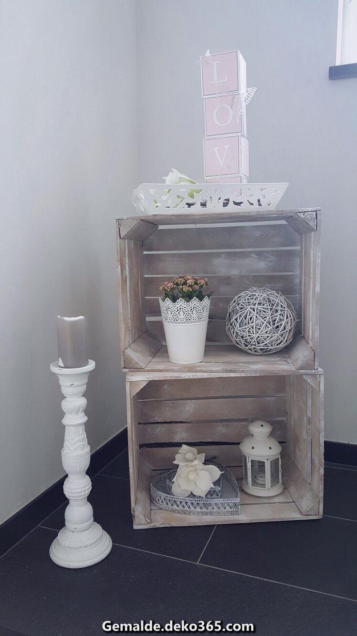 Elegante Dekoration Im Treppenhaus Pink Und Weiss Im Landhausstil