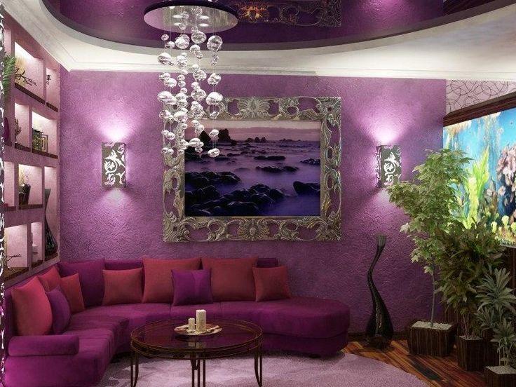 The 25+ Best Purple Corner Sofas Ideas On Pinterest | Purple Curtains For  The Home, Purple Curtains And Black Sofa Living Room Part 92