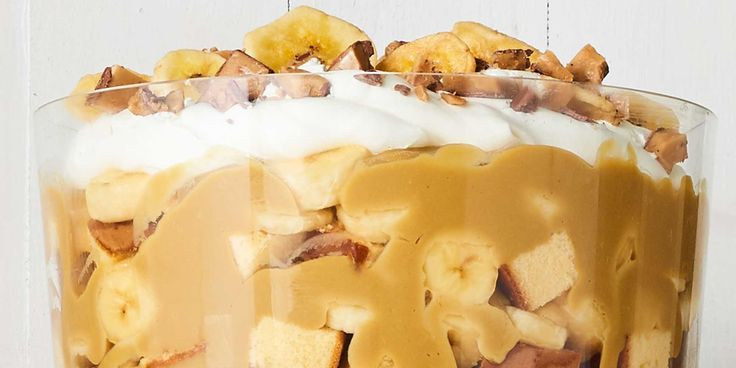 Best Butterscotch-Banana Trifle Recipe - How To Make Butterscotch-Banana Trifle - CountryLiving.com