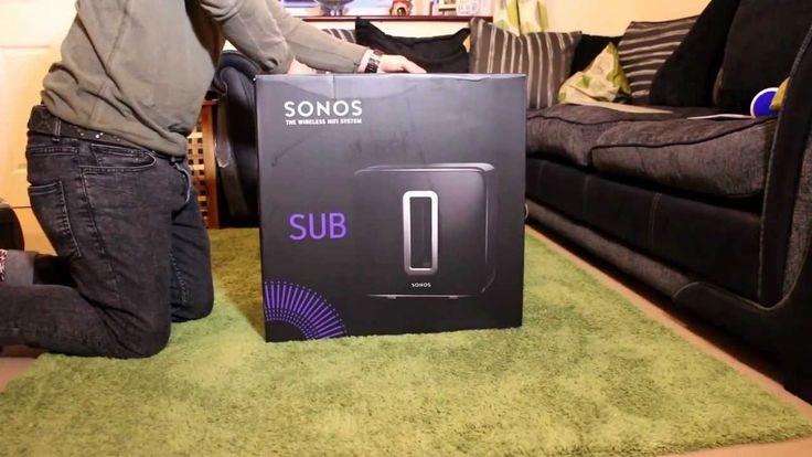 Sonos Wireless HIFI Sub Unboxing
