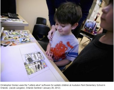 3-D Technology Helps Children with Autism Learn to Read -  Pinned by @PediaStaff – Please Visit http://ht.ly/63sNt for all our pediatric therapy pins