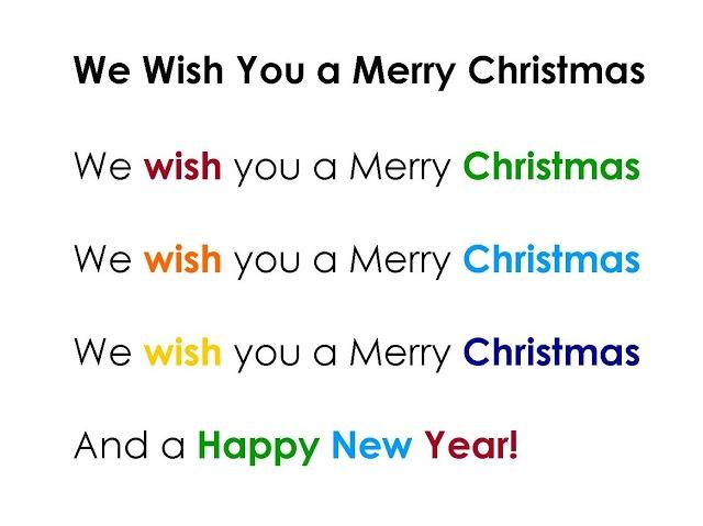 we wish you a merry xmas; kinder & handbells