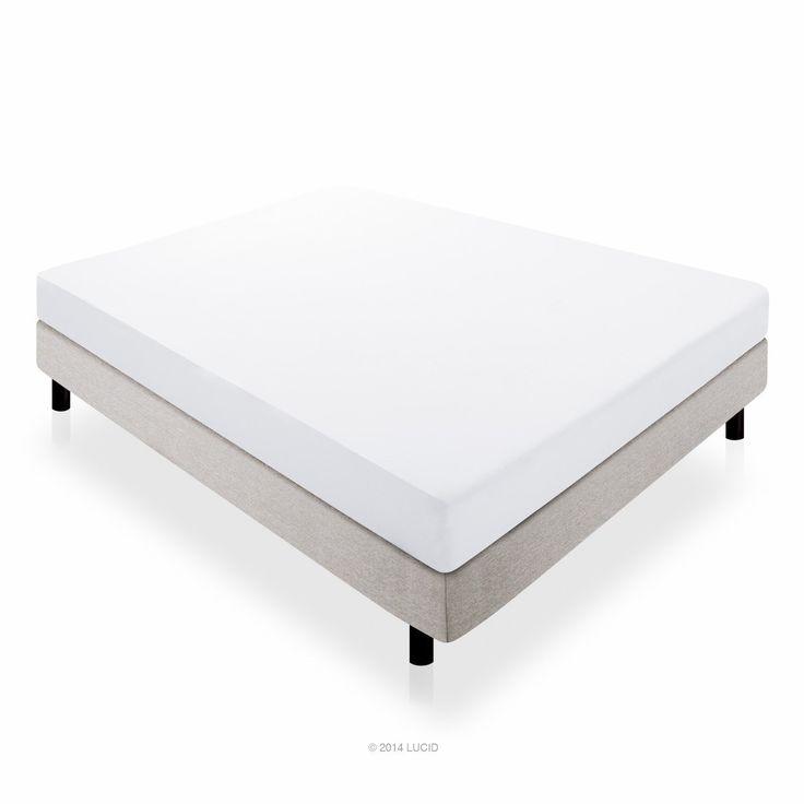 59 off on lucid 10 inch memory foam mattress 100 certipurus - King Size Tempurpedic Mattress