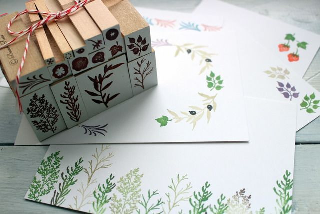 natural petit stamp set - bf-ako