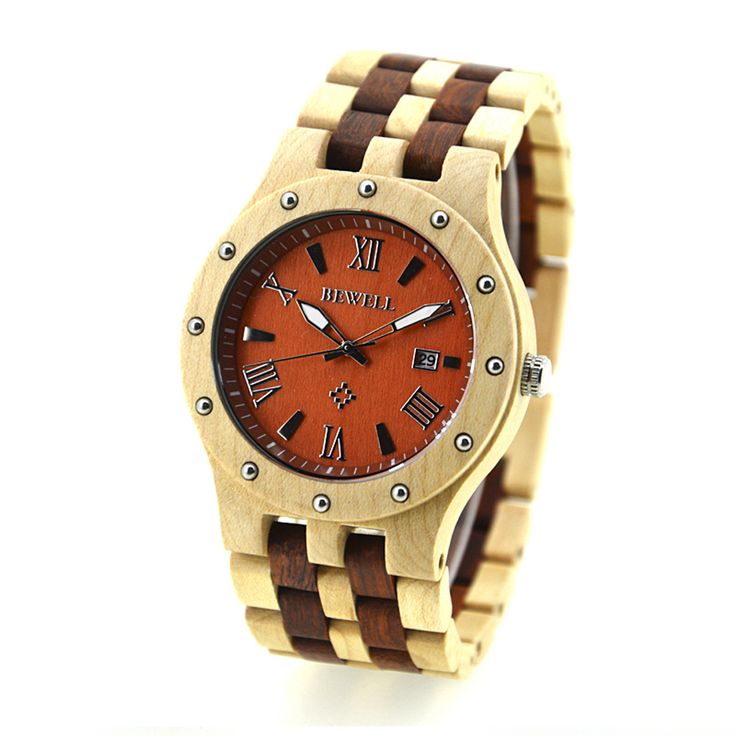 BEWELL Wood Watches Men 2016 Quartz watch Men's Watches casual  top brand luxury Luminous Wristwatch Calendar relogio masculino-in Quartz Watches from Watches on Aliexpress.com | Alibaba Group