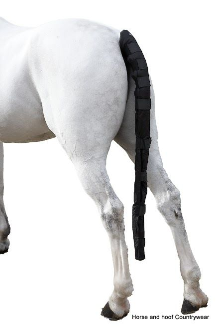 Hy Ripstop Tail Guard A unique must have product This tail guard is made out of very hard wearing ripstop material Velcro fastening to the bottom of the horses tail.