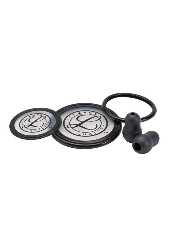 3M Littmann Cardiology III Stethoscopes Spare Parts Kits - Black - OS: The 3M Littmann Cardiology III… #NursingUniforms #CheapScrubs