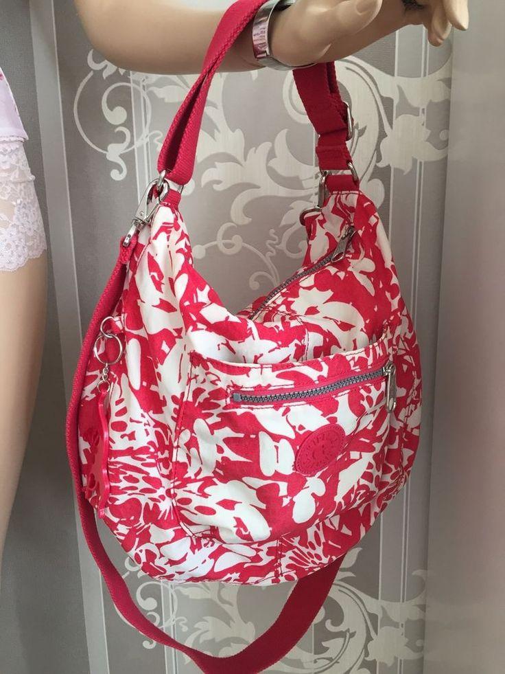 Kipling Tasche Grosse Schultertasche Pink Coral