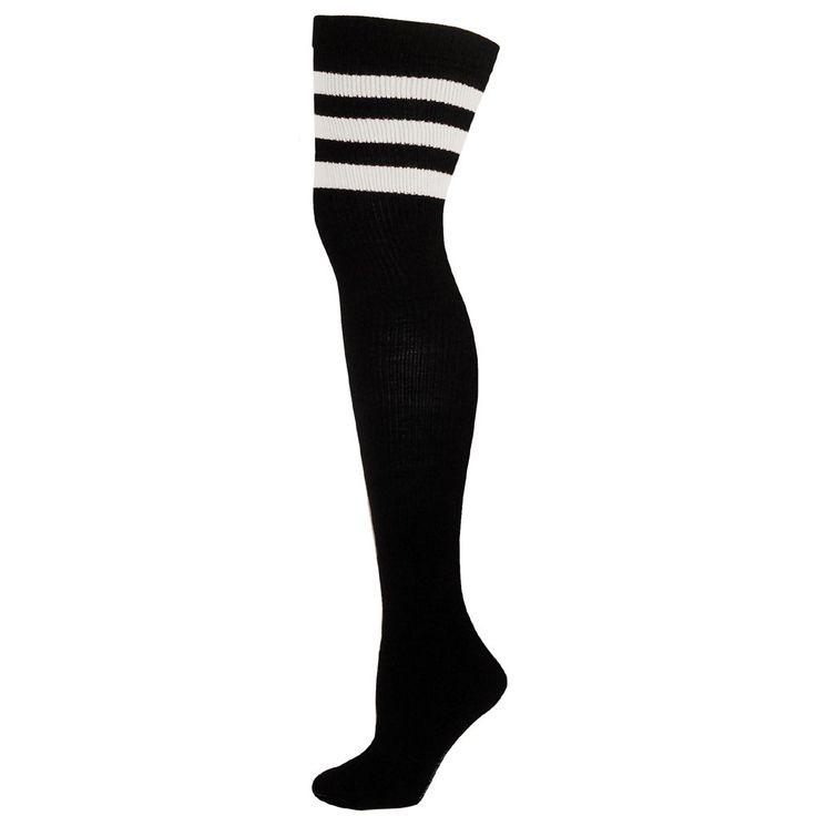 AJs Retro Thigh High Tube Socks