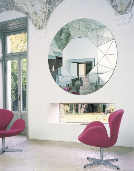 Contemporary Living Room Mirrors