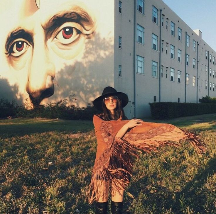Wraped in Nora Lozza Boho Cape AW14 Jenny Lopez @lopezjennylopez Gypsy style