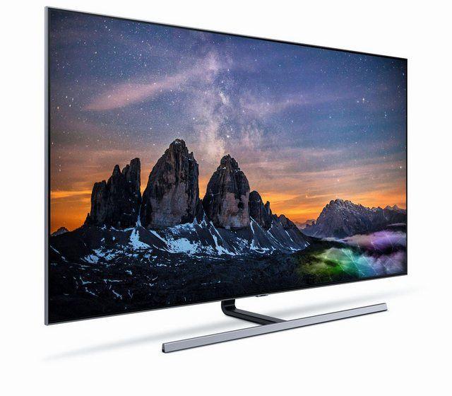 Samsung Premium Gq65q80rgtxzg Qled Fernseher 163 Cm 65 Zoll 4k Ultra Hd Smart Tv Online Kaufen Tv Empfang Bilder Samsung