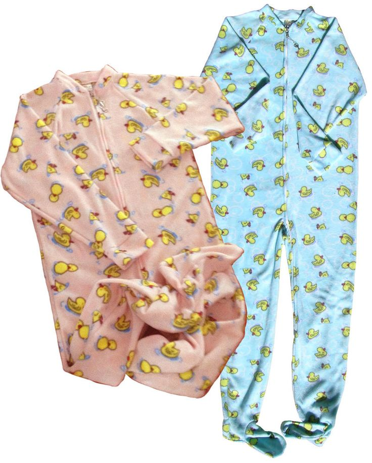 Adult Footed Jammies 29