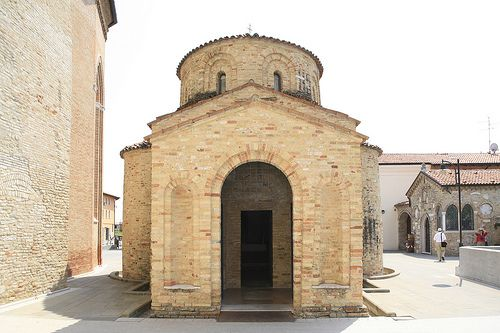 Concordia Sagittaria #Baptistery, a small work of #art