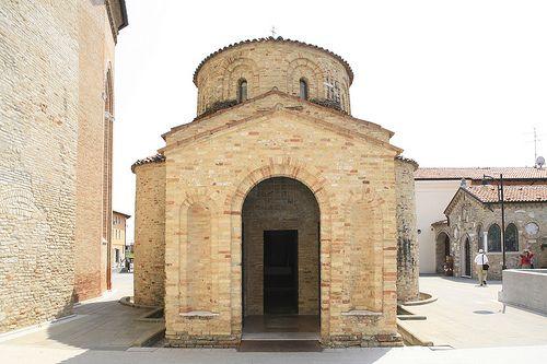 Concordia Sagittaria #Baptistery, a small work of #art