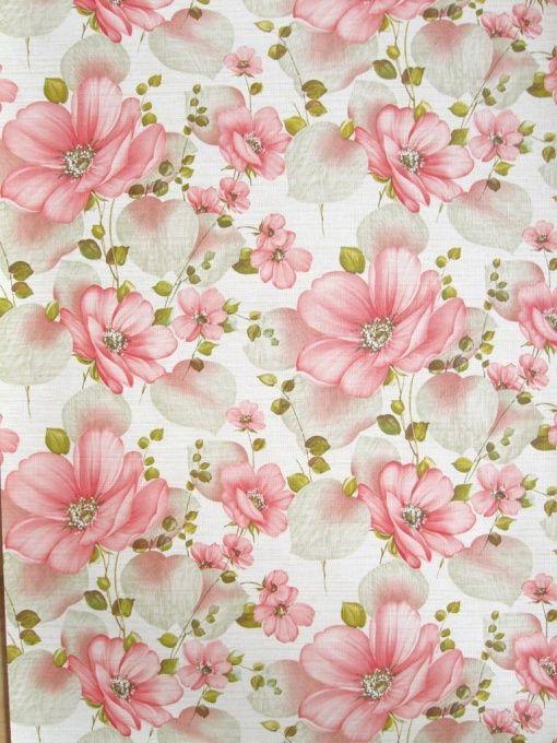 antique floral Wallpaper  | Diana | Flower Wallpaper | Vintage Wallpaper | Johnny-Tapete
