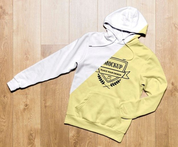 Download Top View Yellow Hoodie Mock Up Free Psd Freepik Freepsd Business Sports Clothes Mockup In 2021 Yellow Hoodie Hoodies Books To Read For Women