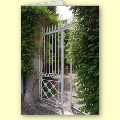 Open Gate in Issel France