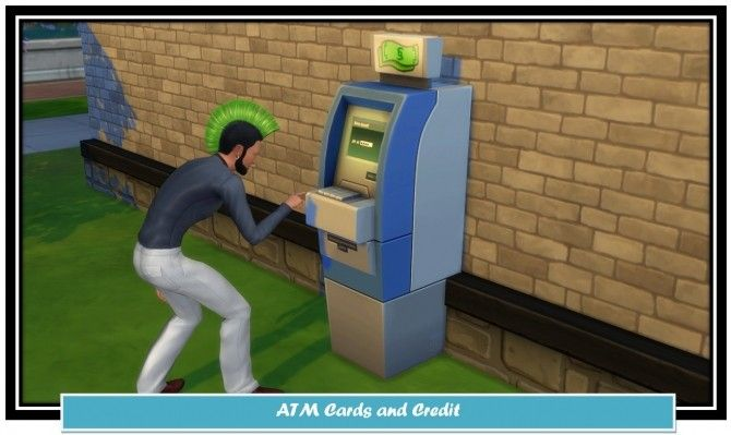 ATM Cards and Credit by LittleMsSam at Mod The Sims
