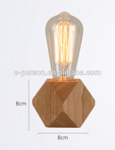 Look what I found Via Alibaba.com App: - Small Wooden Table Lamp Home Bedroom Decorating Table Wooden Lamp