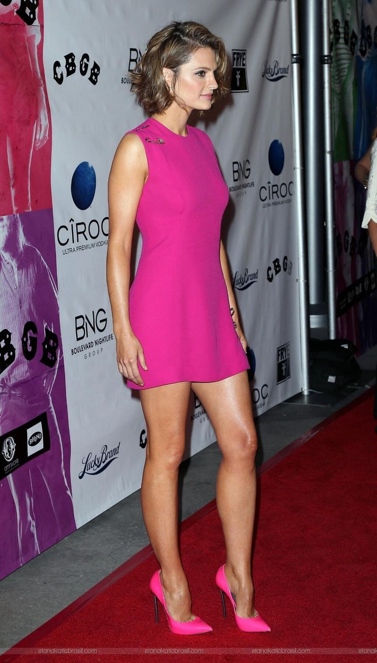 Stana, CBGB premier | All Things Castle in 2019 | Sexy ...