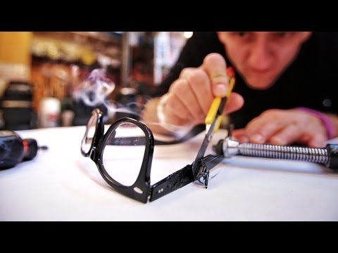 Blow Torch Customized Google Glass - YouTube
