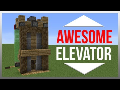 Minecraft 1.9: Redstone Tutorial - Elevator! - YouTube