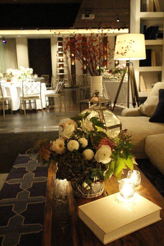 Floral design:Lewis Miller/Lewis Miller Design/  /Venue:Destino Brooklyn New York/Kanazawa JAPAN/MAGRITTE INC./  /Space design:Lewis Miller/Lewis Miller Design