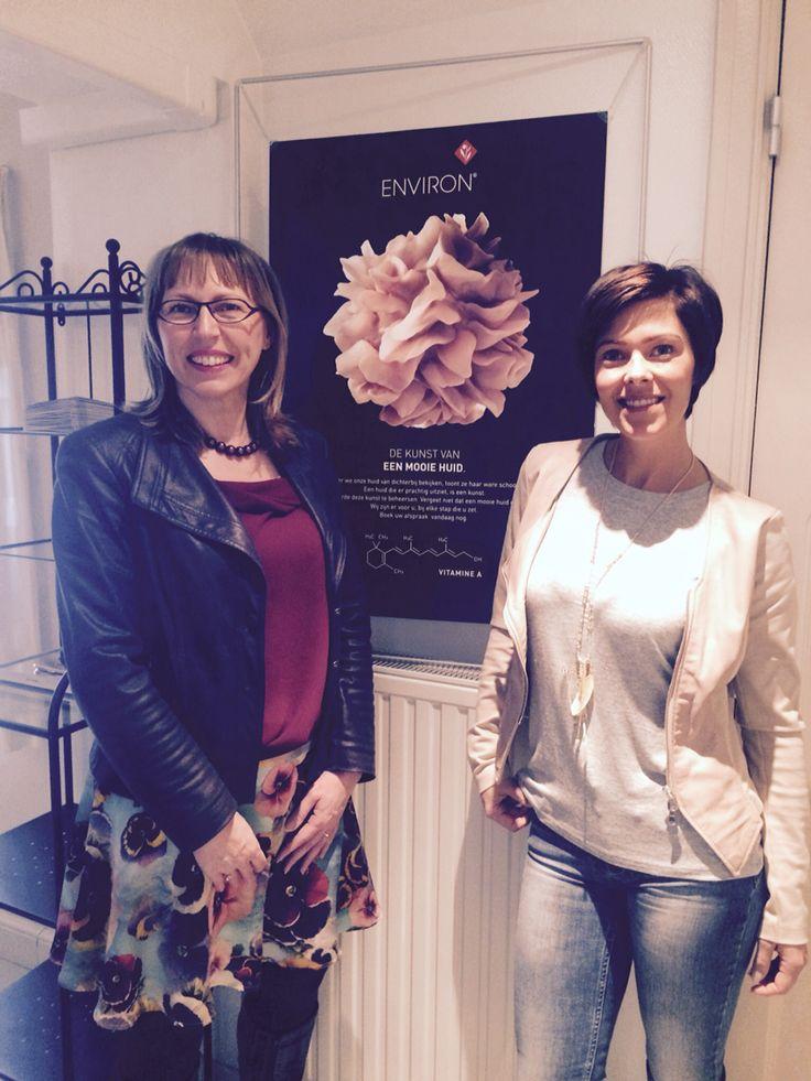 Bezoek van Katrien Roels en Hanne Troonbeeckx