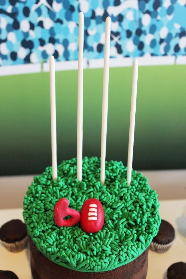 Aussie Rules Football (AFL) Birthday Party - Spaceships and Laser Beams
