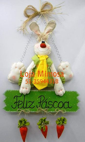 guirlanda coelho - mimosa - JORGETE COUTINHO - Веб-альбомы Picasa
