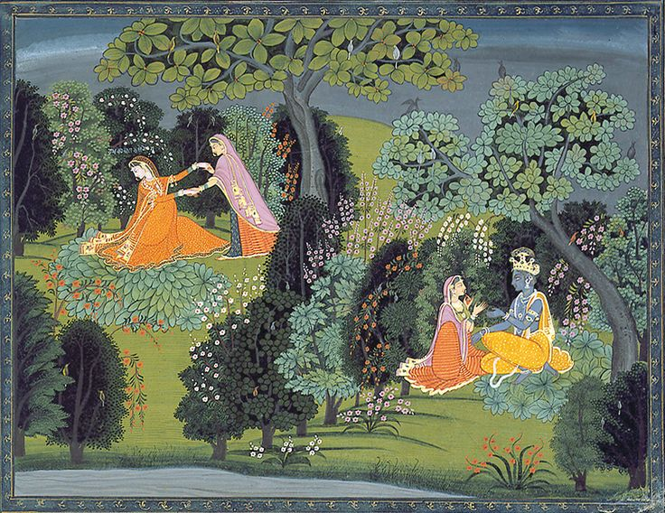 All sizes | The friend urges Radha to abandon her pride | Flickr - Photo Sharing!