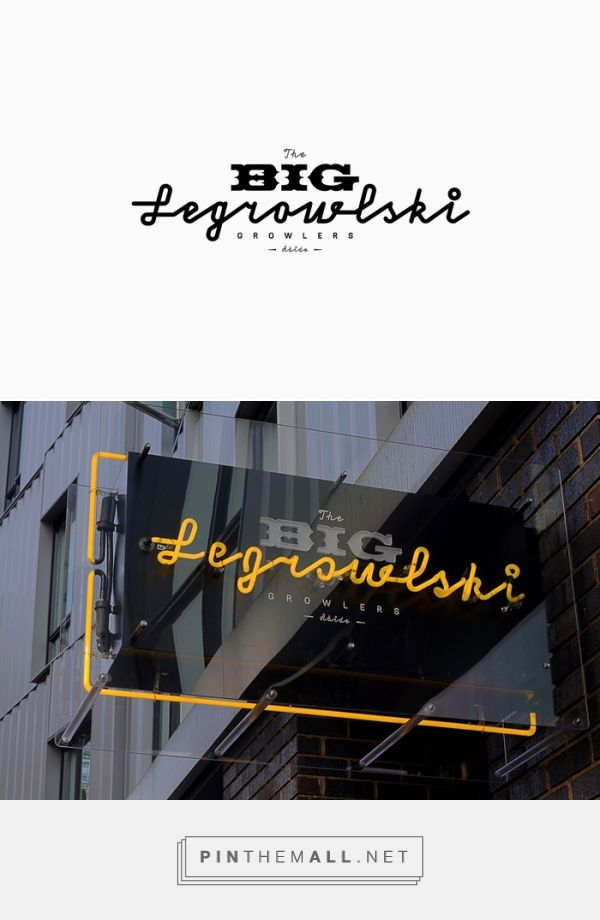 The Big Legrowlski Growlers - Fonts In Use - created via https://pinthemall.net