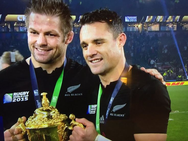 Ritchie McCaw and Dan Carter..Two rugby legends