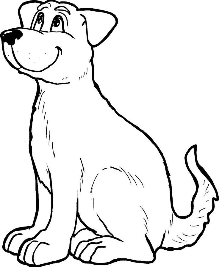 hund dog  ausmalbilder tiere bilder hunde