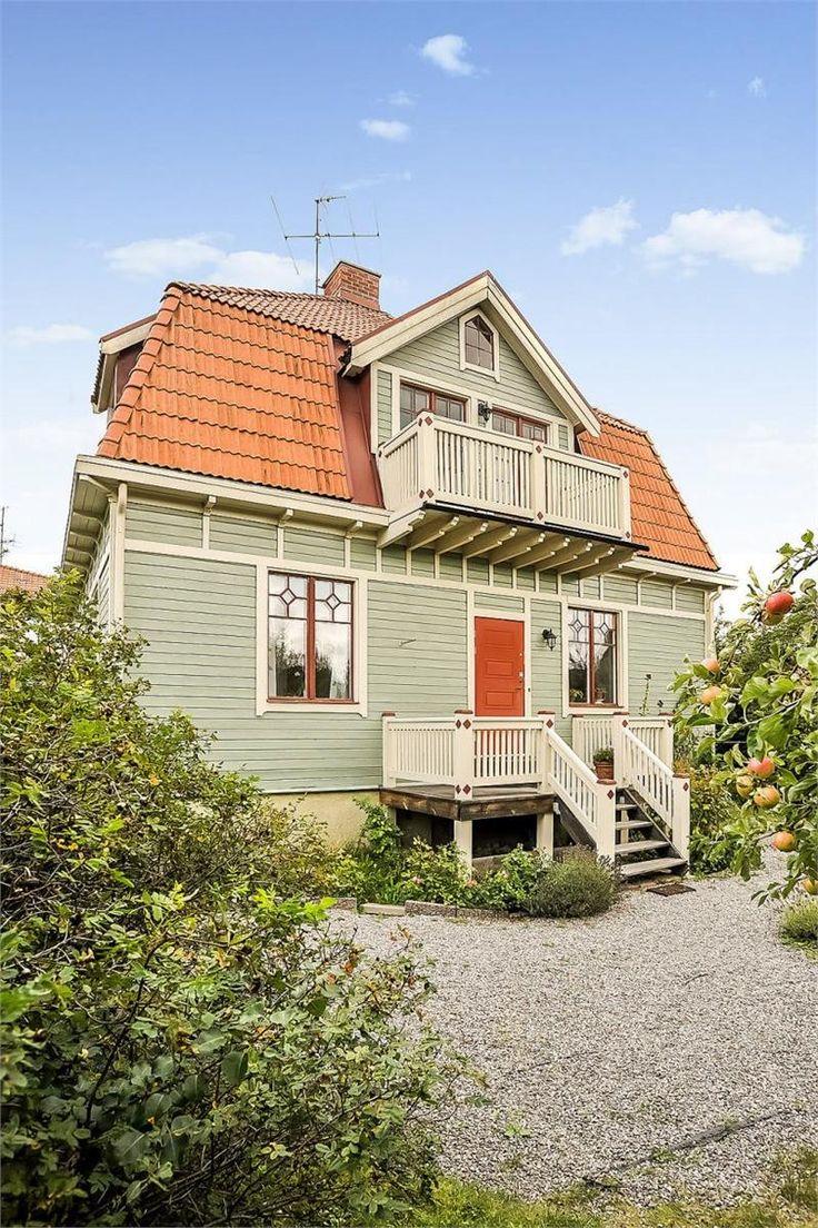 House in Strängnäs, Sweden, built in 1919.