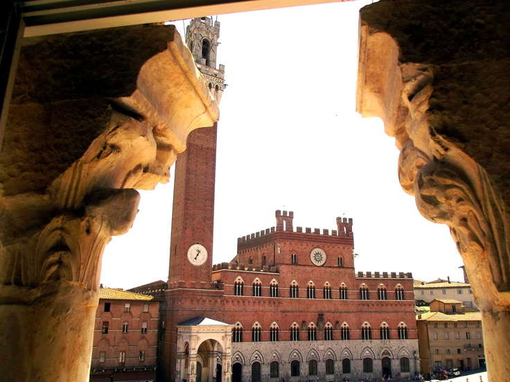 Palazzo Sansedoni's view
