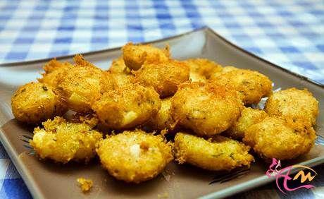 perkedel kentang kornet