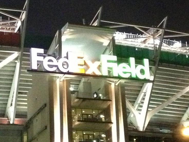 FedEx Field in Landover, MD