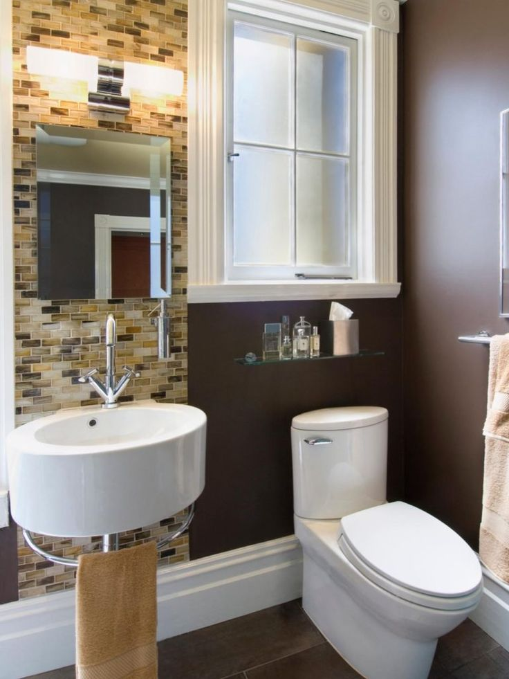The 25 best ideas about very small bathroom on pinterest for Very tiny bathroom