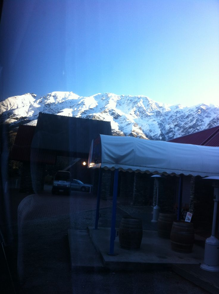 Ski Trip- the amazing view from our hotel!