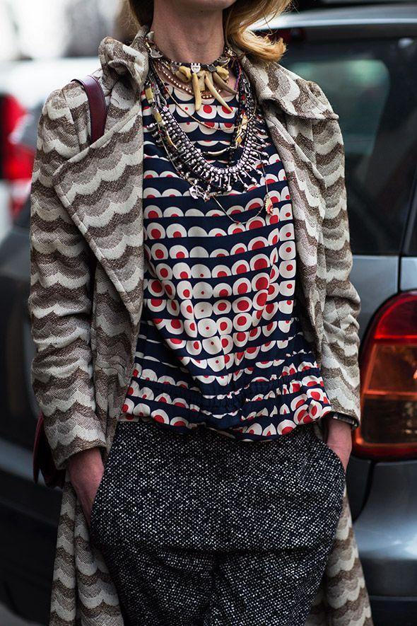 On the Street…Fashion in Detail, Milan Fashion Week - aw15 - streetstyle                                                                                                                                                     More