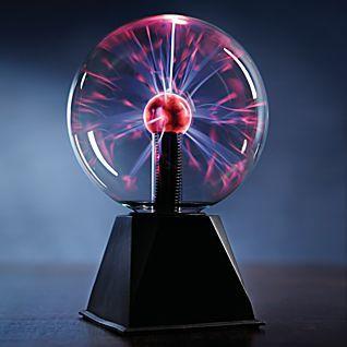 Tesla coil- plasma globe