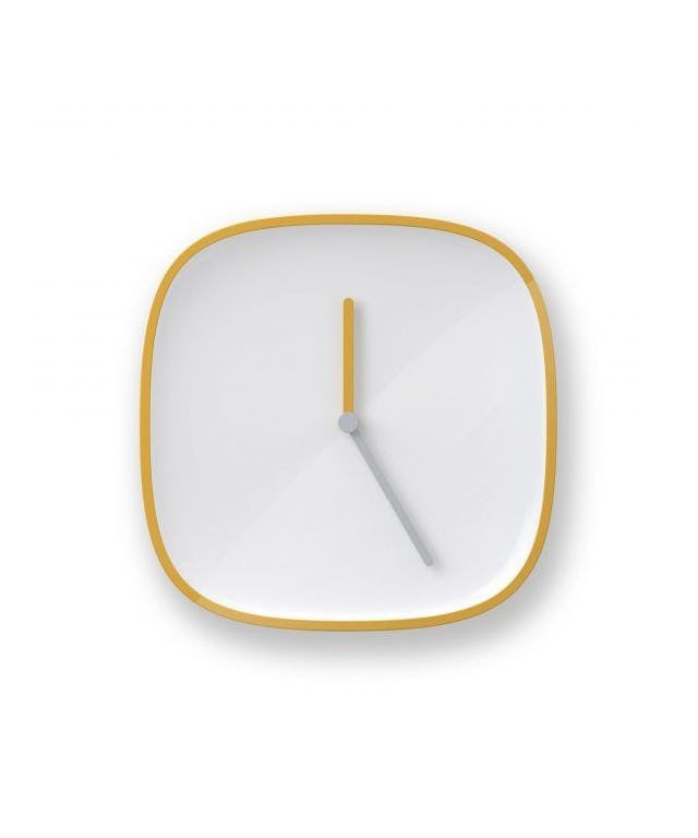 PLATE | clock designed by TEO - Timeless Everyday Objects made in Germany as part of Home Accessories and Home Decor and Clocks tagged Minimalist interior design and Simple & Clean designs and Scandinavian clocks - image 3 on CROWDYHOSUE