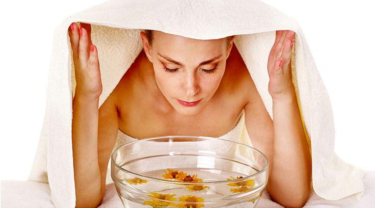 Le bain vapeur fait maison, un soin naturel pour le visage