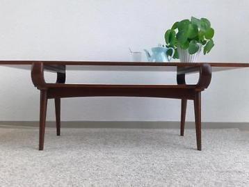 Vintage design salontafel v. Teeffelen retro tafel jr 50 60